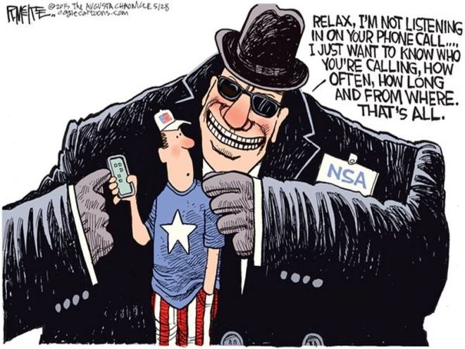 Image result for government snooping cartoon animated gif