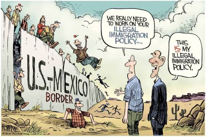 Image result for immigrant deportation cartoons