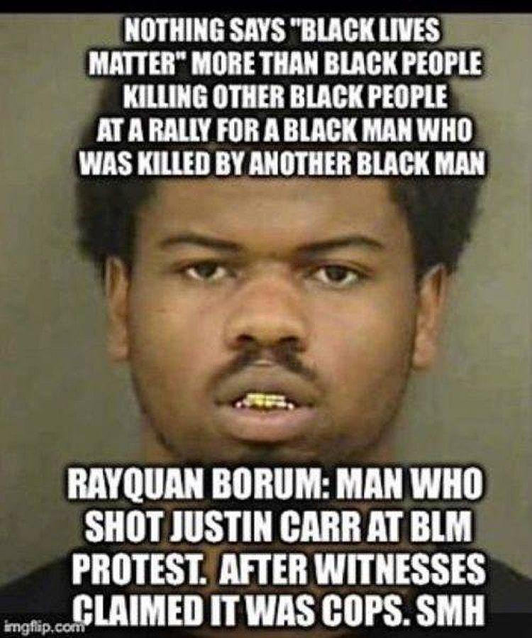 hypocrisy of black lives