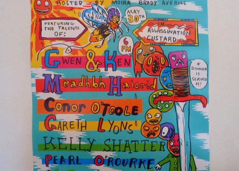Assassination Custard Cafe Dublin 8 Poster