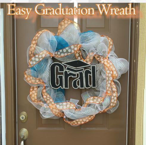 graduation wreath 2
