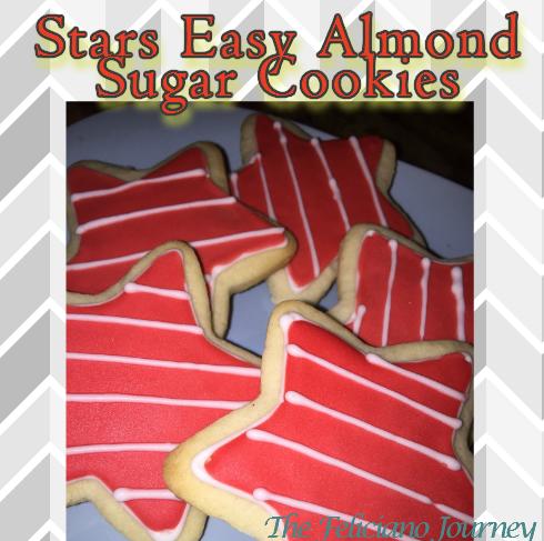 The Feliciano Journey stars-cookies