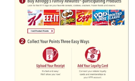 Kellogg's Family Rewards – New Code (100 pts) 11/17/15