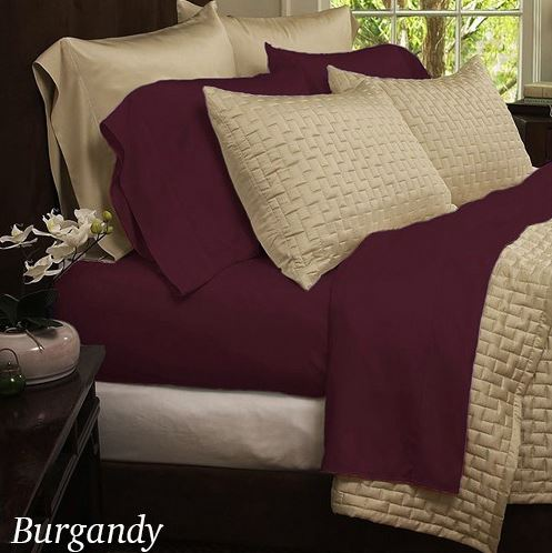 Bamboo Bed sheets 4 piece set as low as $13.99