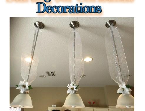 Diy Kitchen Christmas Pendant Lights