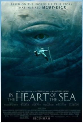 In the Heart of the Sea enter sweepstakes (Raleigh, NC) 12/8