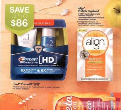 Sunday Insert Expected today 12/27/15 – 1 P&G
