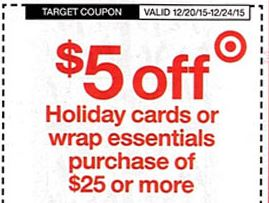 target christmas cpn