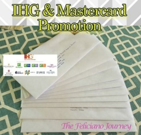 IHG and MasterCard Priceless Surprises Promotion