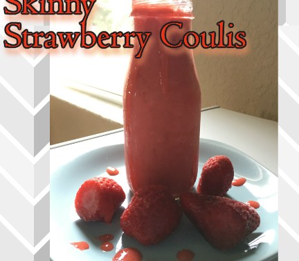 Skinny Strawberry Coulis