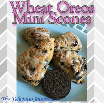 Wheat Oreos Mini Scones