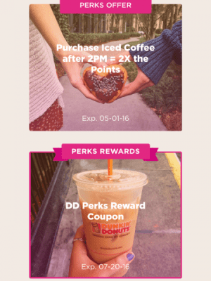 Dunkin Donuts New App enroll by today and see what they are offering