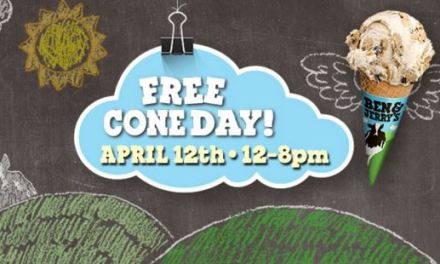 Ben & Jerry (FREE Cone Day) Today Only