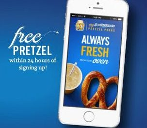 Auntie Anne's Pretzel Perks – New Coupons in App