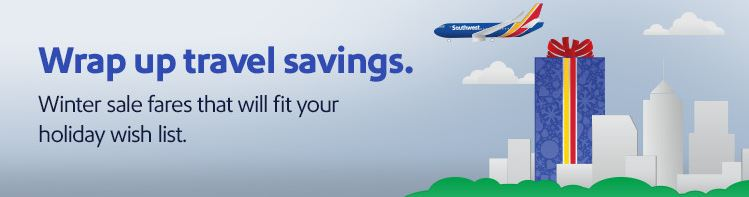 Southwest Winter travel sale (deals starting at $58) (Cuba & Jamaica included)