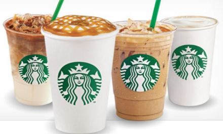 Starbucks buy an item today receive a FREE drink coupon