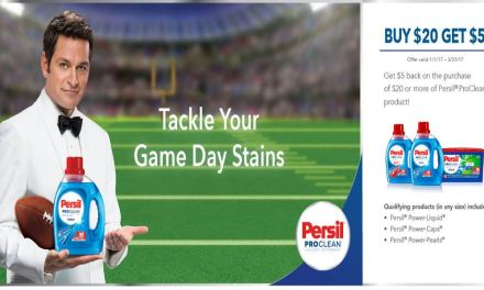 Persil ProClean Buy $20 Get $5 Form