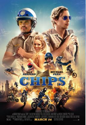 """W. Palm Beach: See """"Chips"""" for FREE on 3/22"""