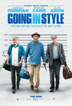 """AMC Members: See """"Going in Style"""" for FREE on 3/29"""