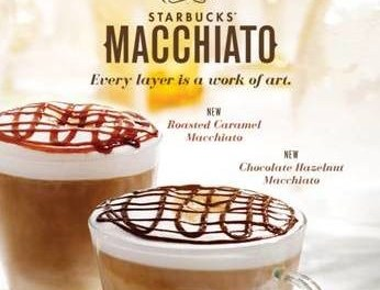 Starbucks 50% coupon (any size Macchiato) ends today 6/28
