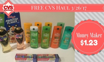 CVS Haul 3/26/17 All FREE with $1.23 money maker