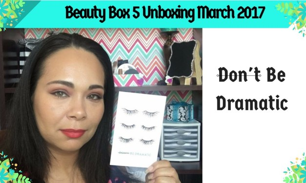 Unboxing: Beauty Box 5 March 2017 (BB5) | Jazz Journey