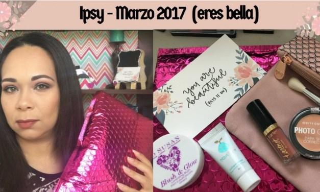 Abriendo bolsita Ipsy Marzo 2017 – regaló cumpleaño de Sephora