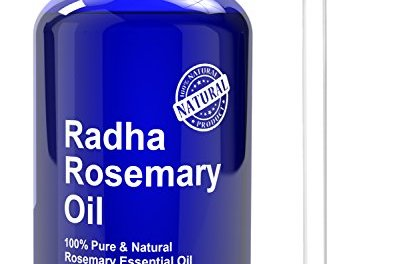 Radha Beauty Therapeutic Grade Rosemary Essential Oil – Big 4 oz