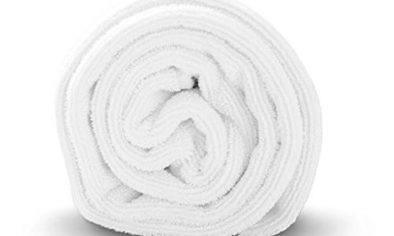 Luxe Beauty Essentials Microfiber Hair Towel, 23-By-40-Inch – White