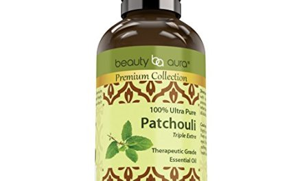 Beauty Aura Premium Collection- Ultra Pure Patchouli Essential Oil – 1 oz Bottle – Finest Quality Therapeutic Grade Essential Oils – Ideal For Aromatherapy