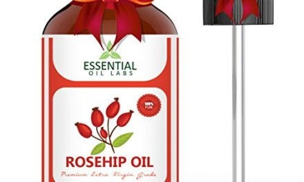 Rosehip Oil – Organic Extra Virgin Grade – Large 4 Ounce Bottle – Ultimate Beauty Companion for Face, Nails, Hair and Skin – with Premium Glass Dropper by Essential Oil Labs