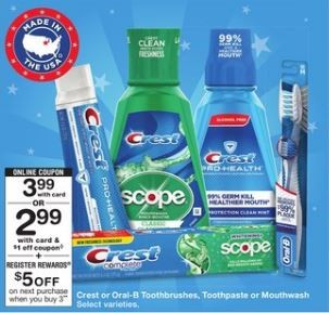Walgreens: Crest Toothpaste as low as $0.33 each (you only need 1 computer & 1 phone)