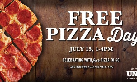 Uno FREE Pizza Day (today only)