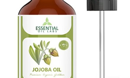 Jojoba Oil – 100% Pure and Organic – 4 Oz. with Glass Dropper – Incredible Moisturizer – Excellent Carrier Oil – Beauty in a Bottle by Essential Oil Labs