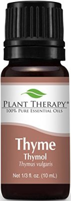 Plant Therapy Thyme Thymol Essential Oil. 100% Pure, Undiluted, Therapeutic Grade. 10 ml (1/3 oz).