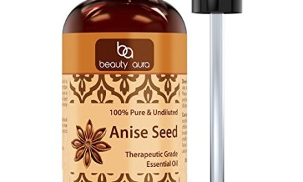 Beauty Aura Anise Seed oil 4 Fl oz – 100% Pure, Best Therapeutic Grade…