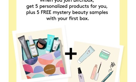 Birchbox: Double the Fun (5 FREE mystery samples)