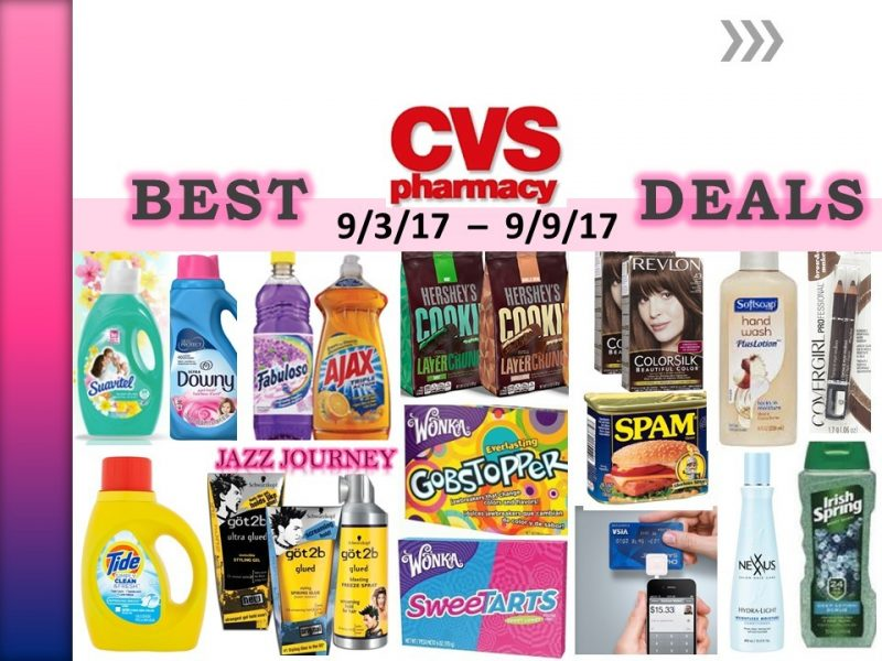 CVS Upcoming Deals 9/3/17 – 9/9/17 (ends today)