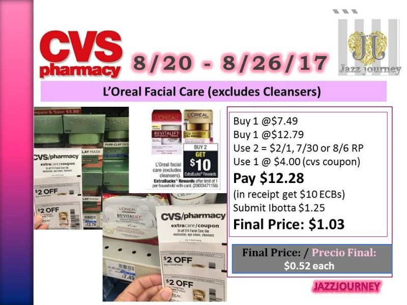 CVS: L'Oreal Clay Mask & Towelettes (as low as $0.52 each)