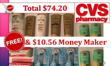 CVS Haul 8/27/17 ($10.56 money maker out of $74.20)