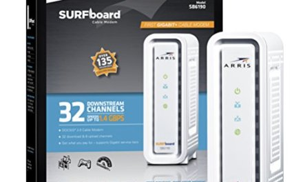 ARRIS SURFboard SB6190 DOCSIS 3.0 Cable Modem – Retail Packaging – White