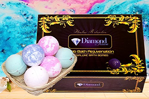 #1 Bath Bombs Gift Set – Organic Shea & …