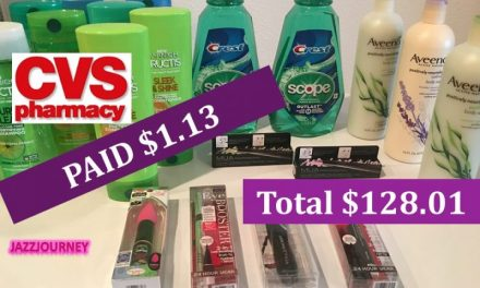 CVS Haul 9/17/17 – Pd $1.13 from $128.01