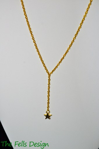 Star Charm Y-Necklace