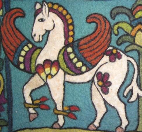 Close Up Byz Horses