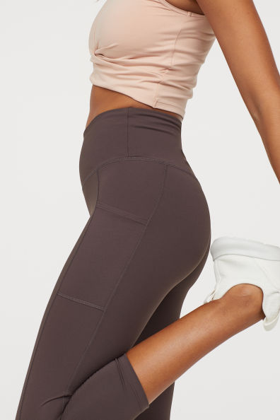 H&m 3/4 length fitness workout Sports Tights