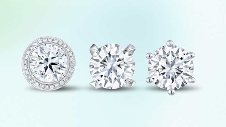 Love & Co ring head in Halo, 4 prong head, 6 prong head