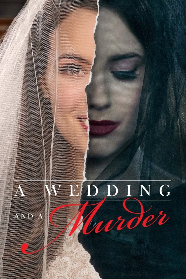 Official poster for reality TV show A Wedding And A Murder