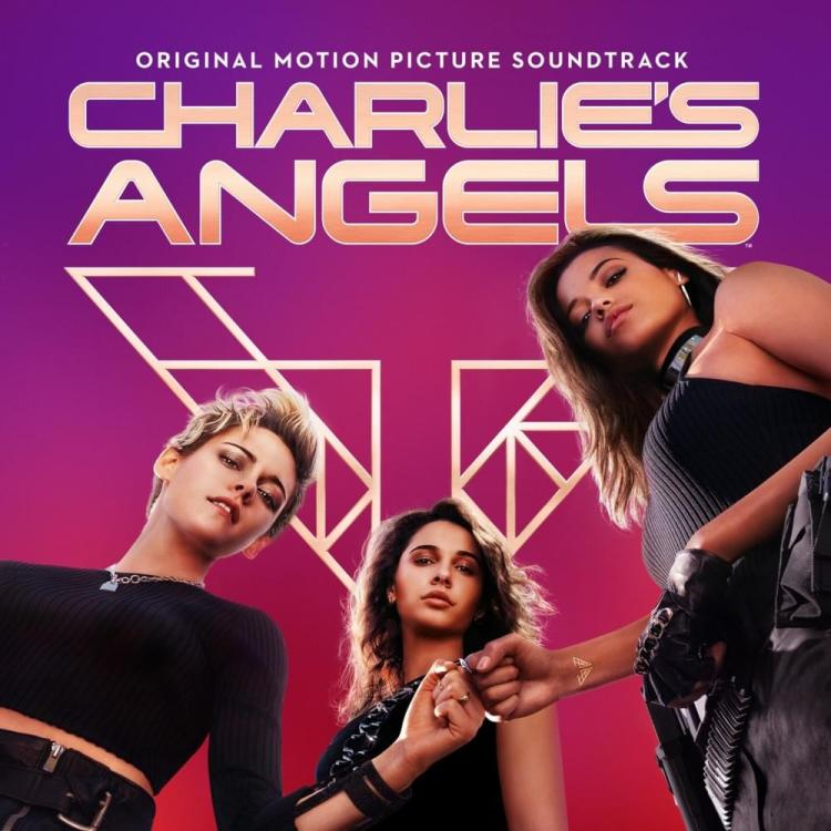 Official poster of the Charlie's Angels with Kristen Steward, Naomi Scott and Ella Balinska