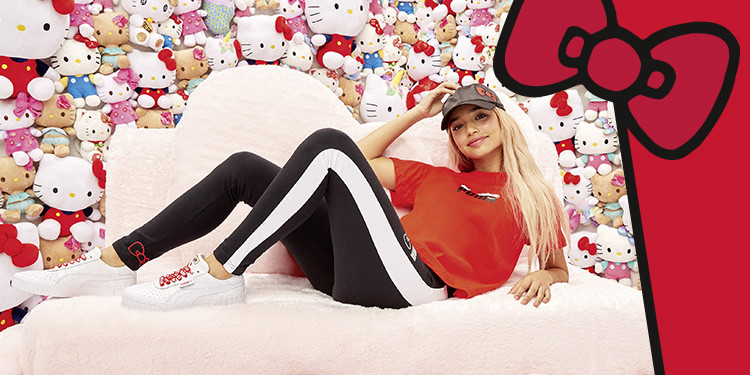 Puma and hello kitty collection